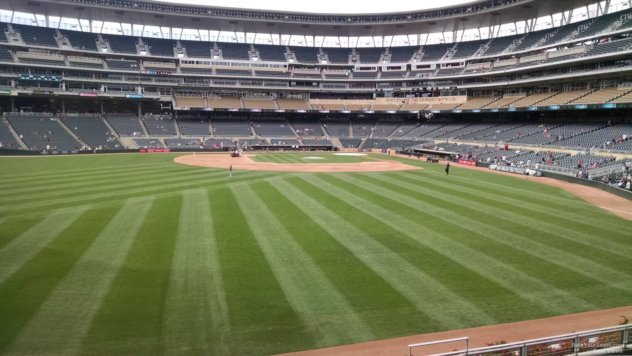 Target Field Section 130 Rateyourseats Com