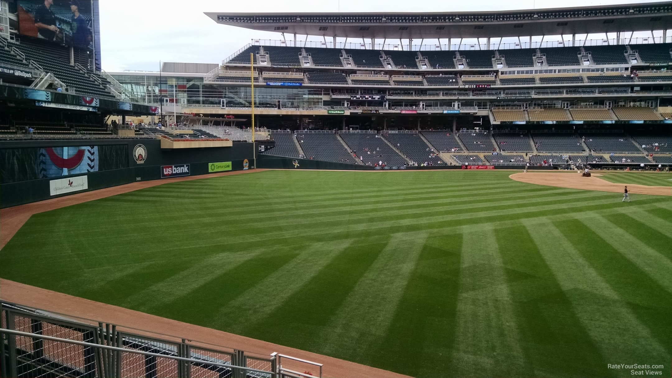 Target Field Section 131 Rateyourseats Com