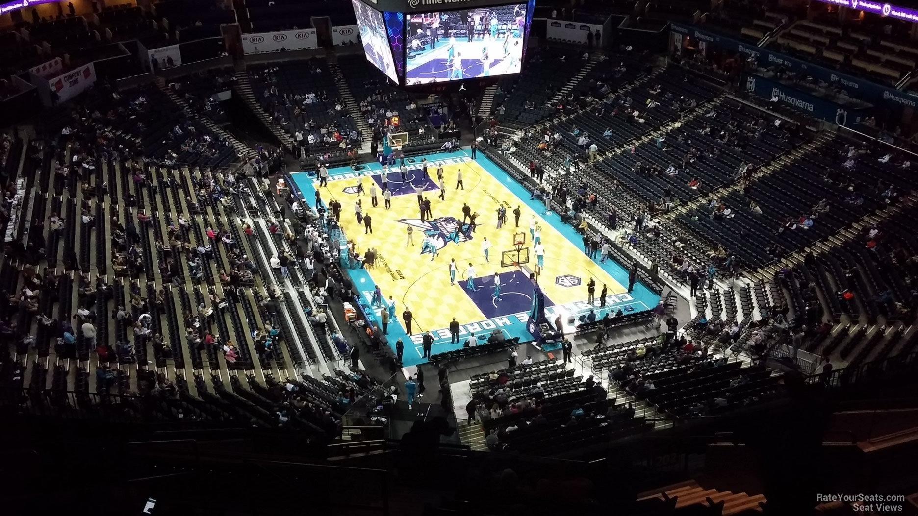 Spectrum Center Section 202 Charlotte Hornets