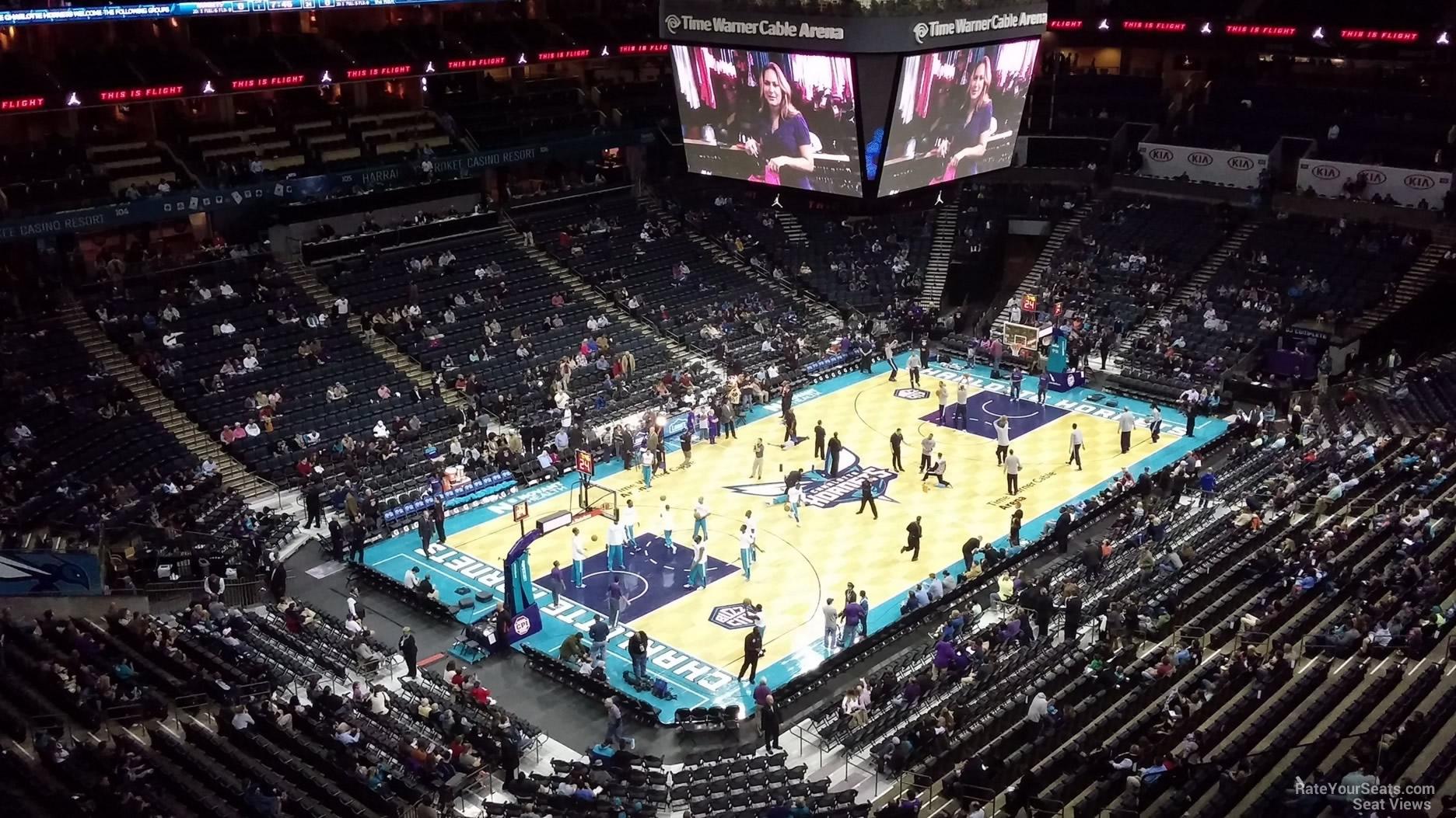 Spectrum Center Section 230 Charlotte Hornets