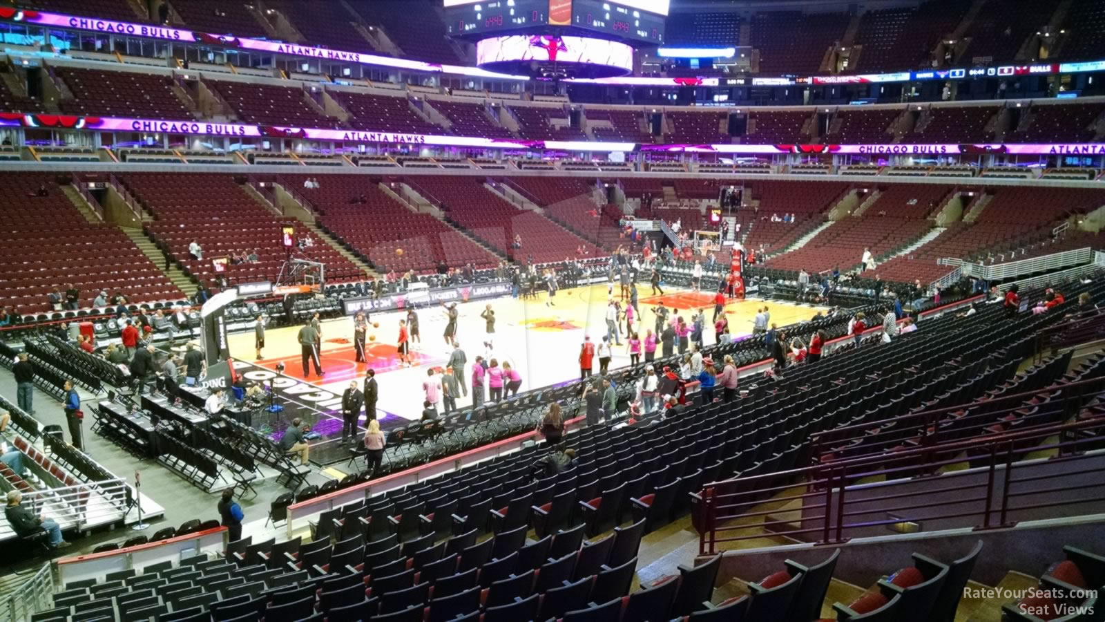 United Center Section 114 Chicago Bulls Rateyourseats Com