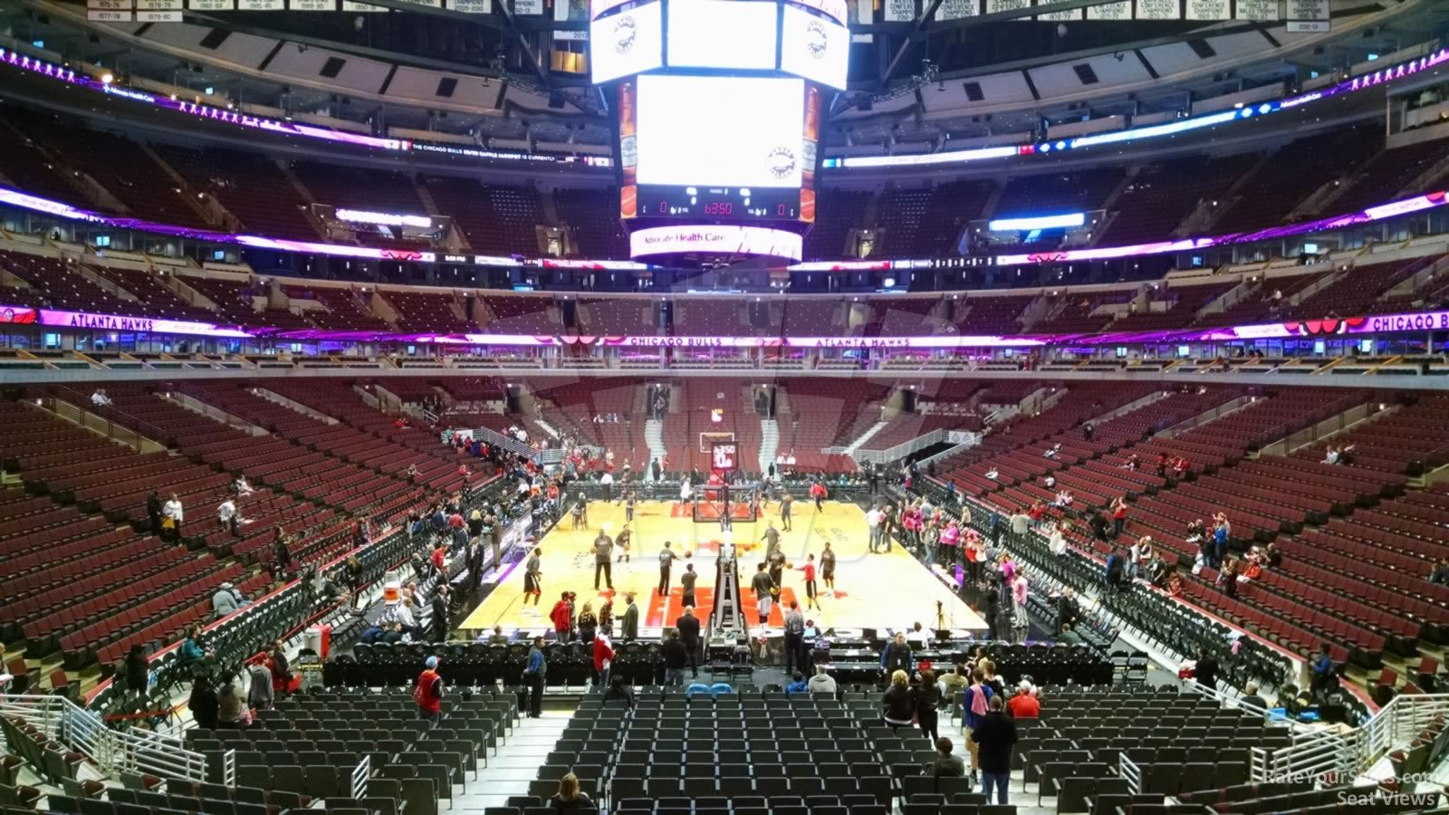 United Center Section 117 - Chicago Bulls - RateYourSeats.com