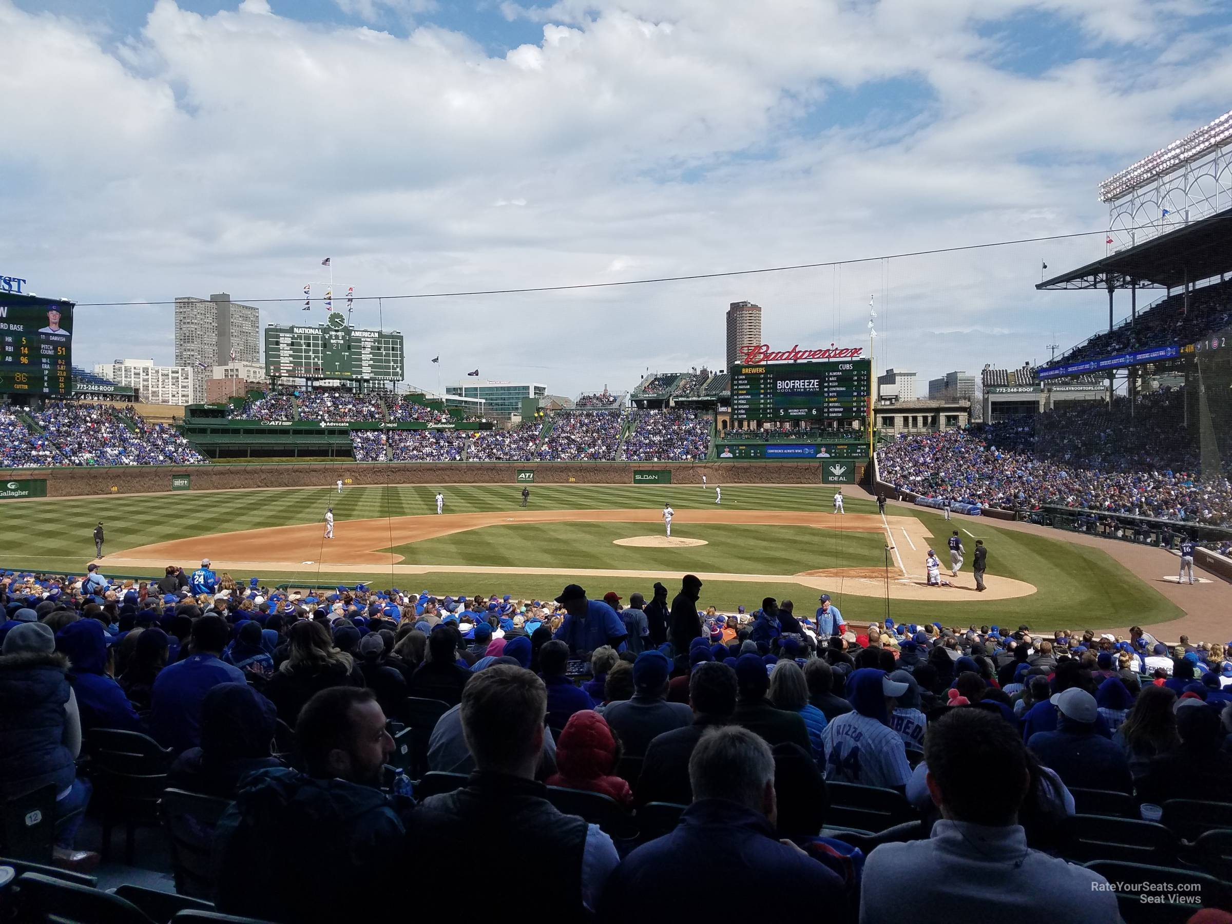 Wrigley Field Section 116 - Chicago Cubs - RateYourSeats.com