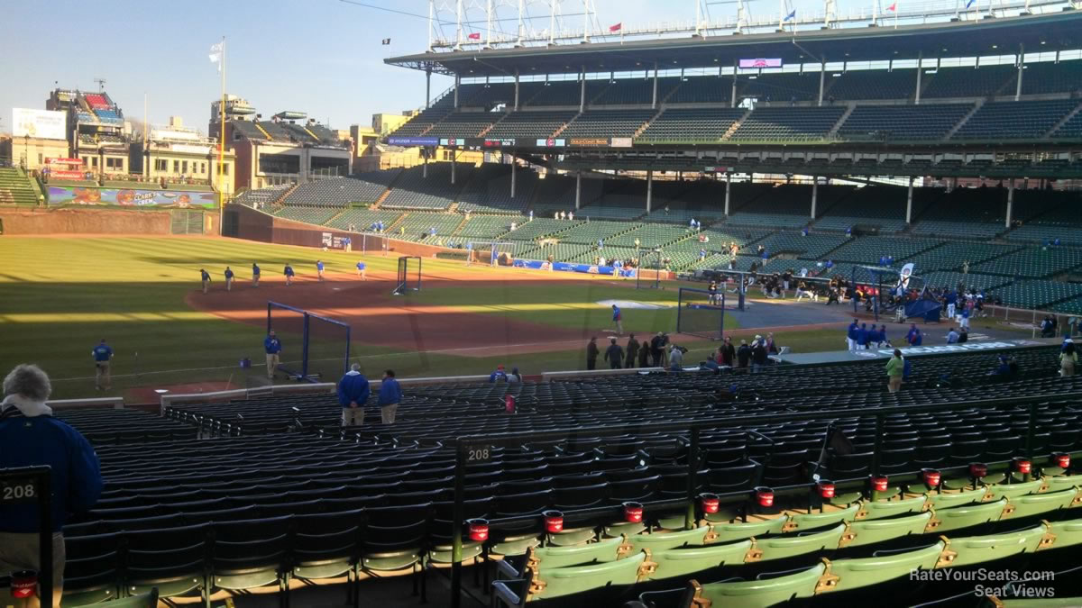 Chicago Cubs Wrigley Field Seating Chart & Interactive Map ...
