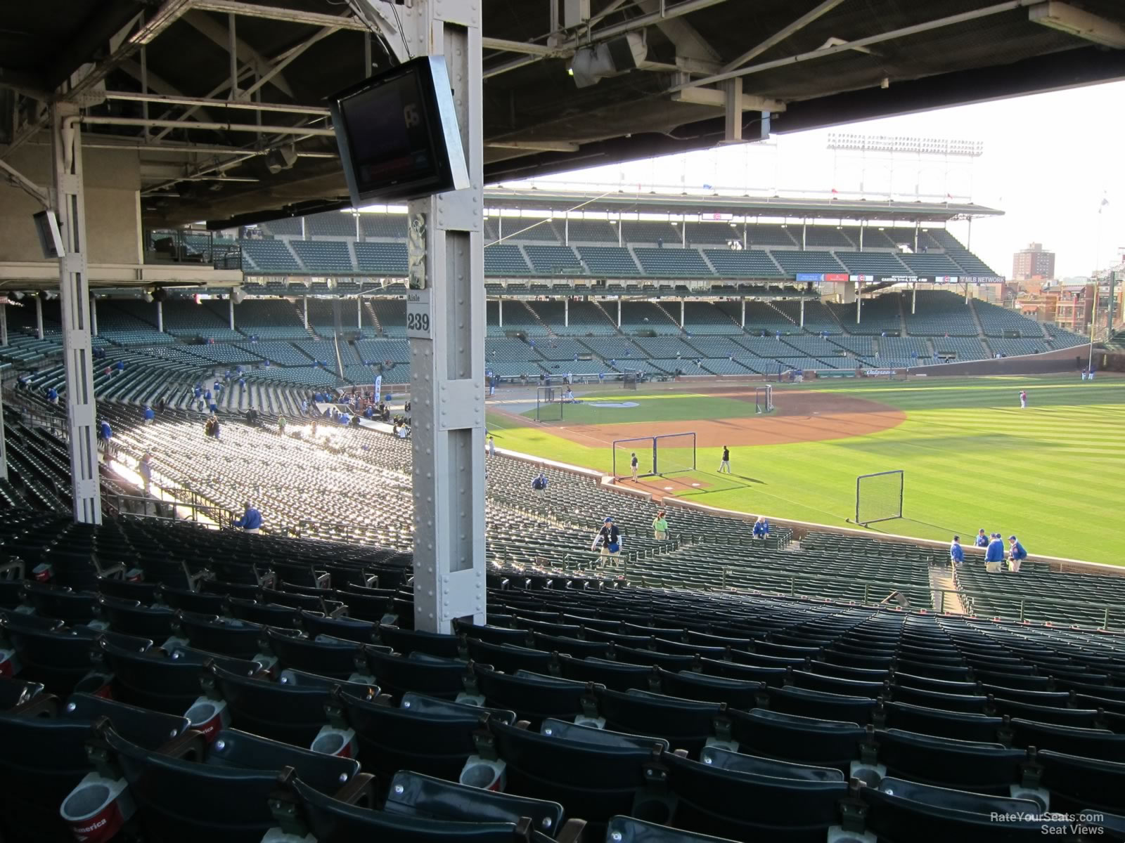 Wrigley FieldSeating Sections For Baseball Games