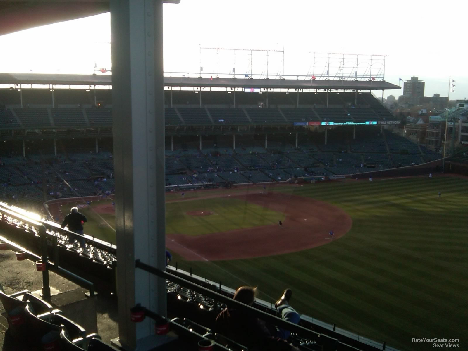 Wrigley Field Section 538 - Chicago Cubs - RateYourSeats.com