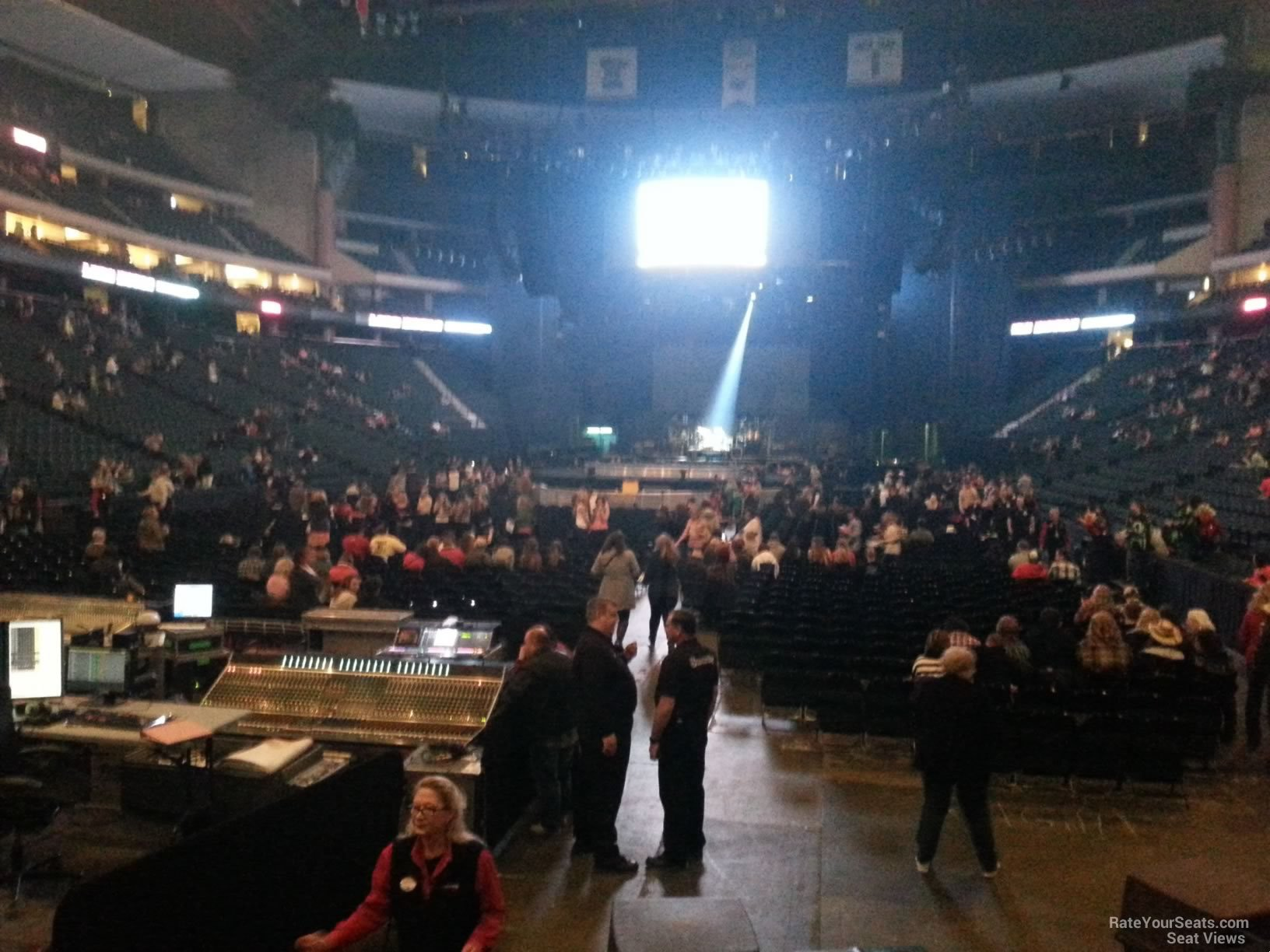 Xcel Energy Center Section 109 Concert Seating