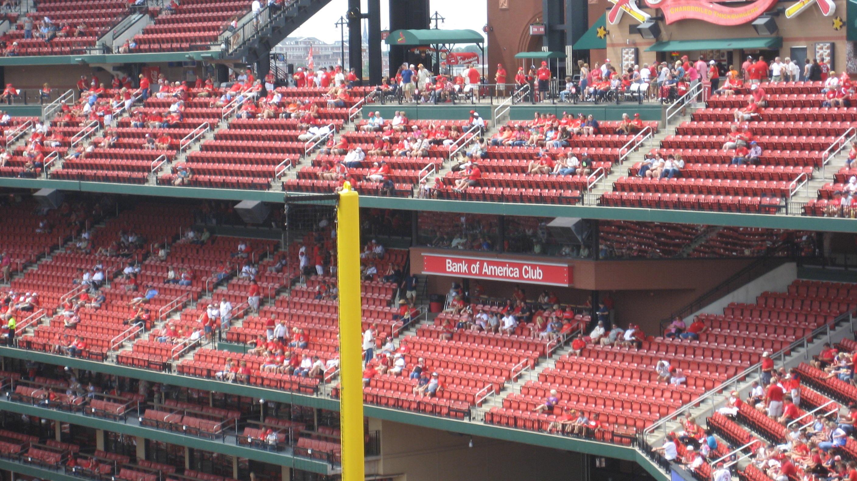 St Louis Cardinals Club Seating At Busch Stadium