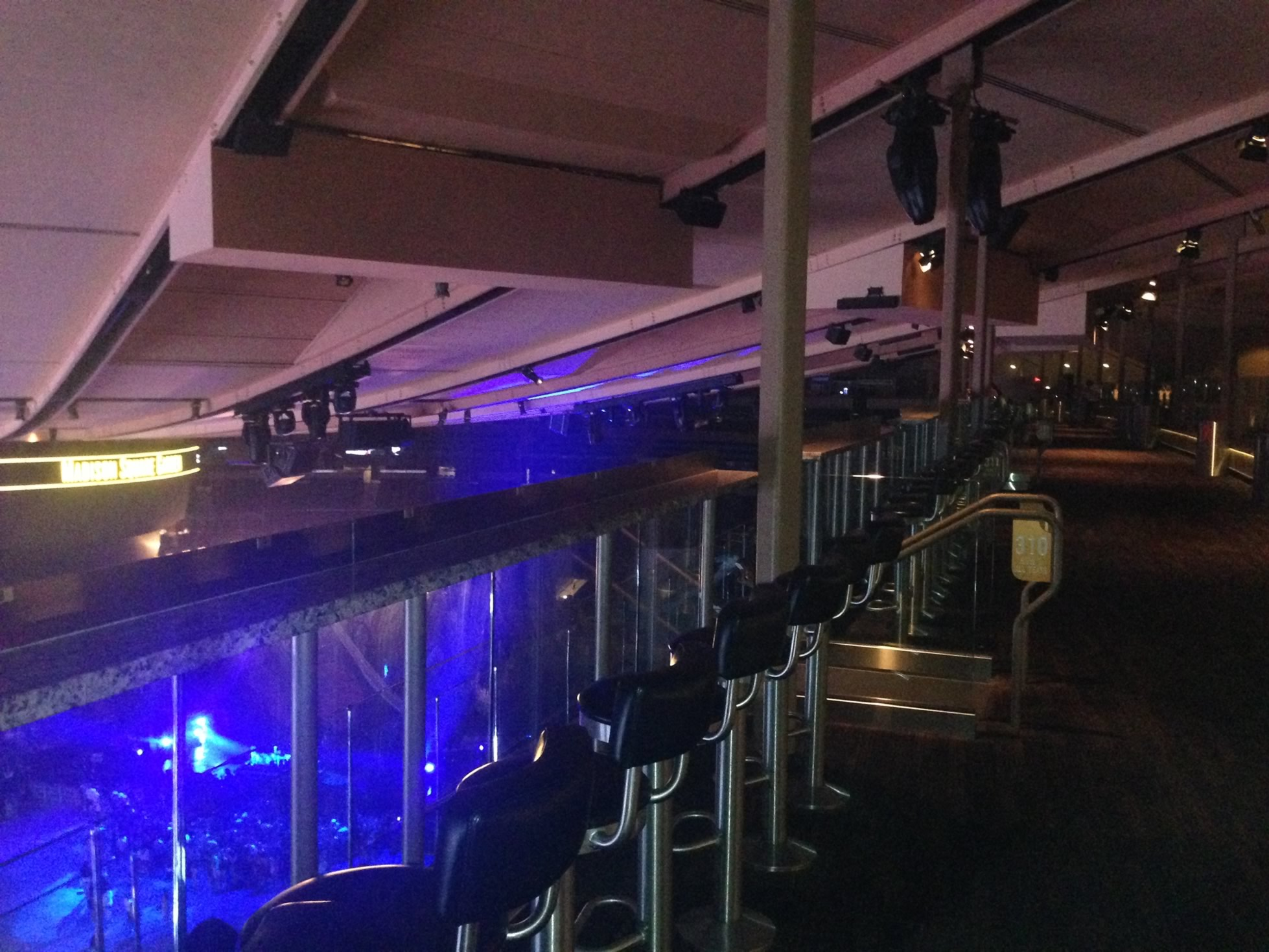 Madison Square Garden Section 313 Concert Seating