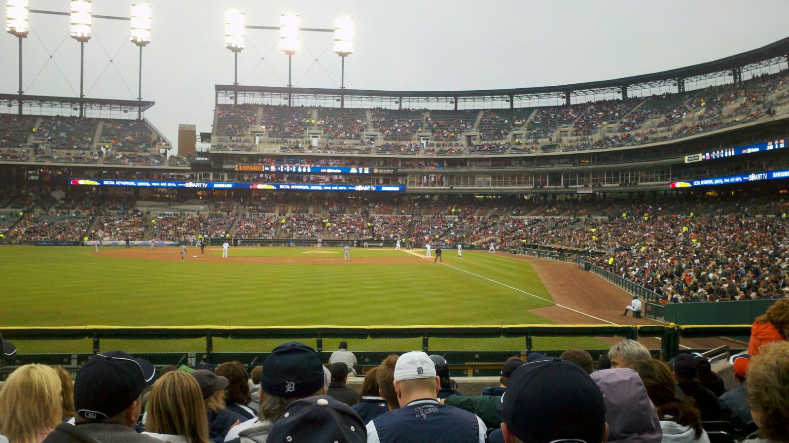 Seat View for Comerica Park Section 147, Row L, Seat 11