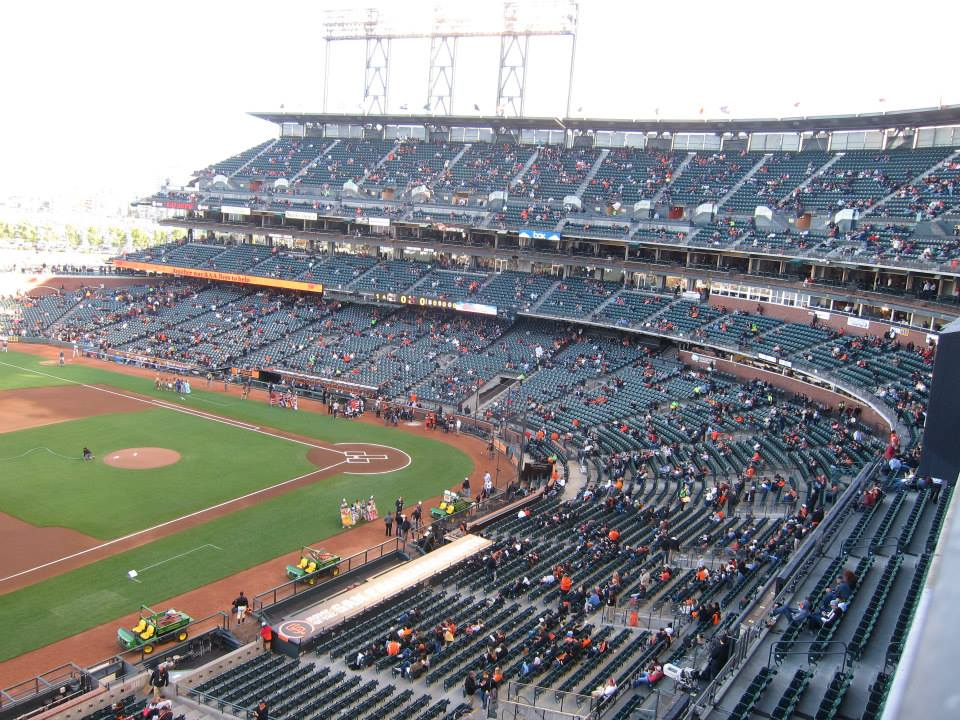 San Francisco Giants Seat View for Oracle Park Section 326, Row A, Seat 1