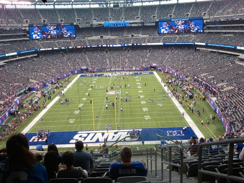 Seat View for MetLife Stadium Section 226, Row 11