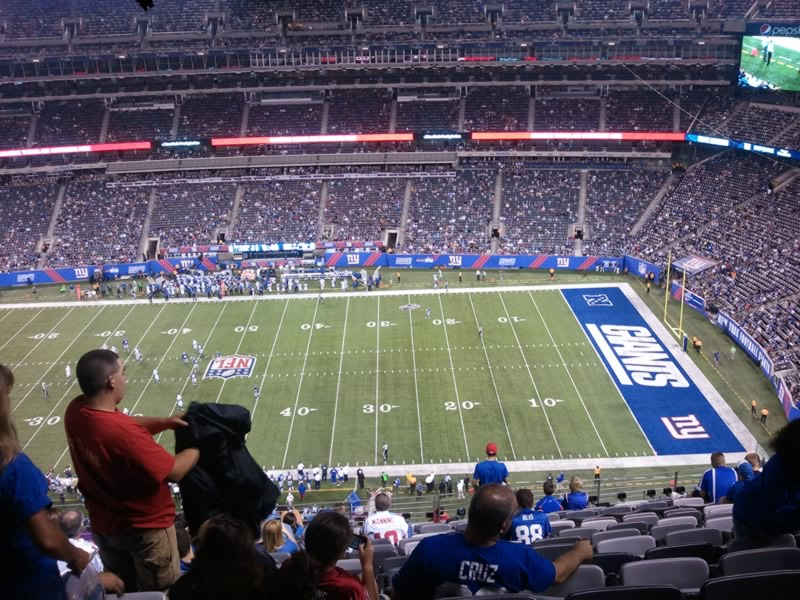 Seat View for MetLife Stadium Section 312, Row 18, Seat 17