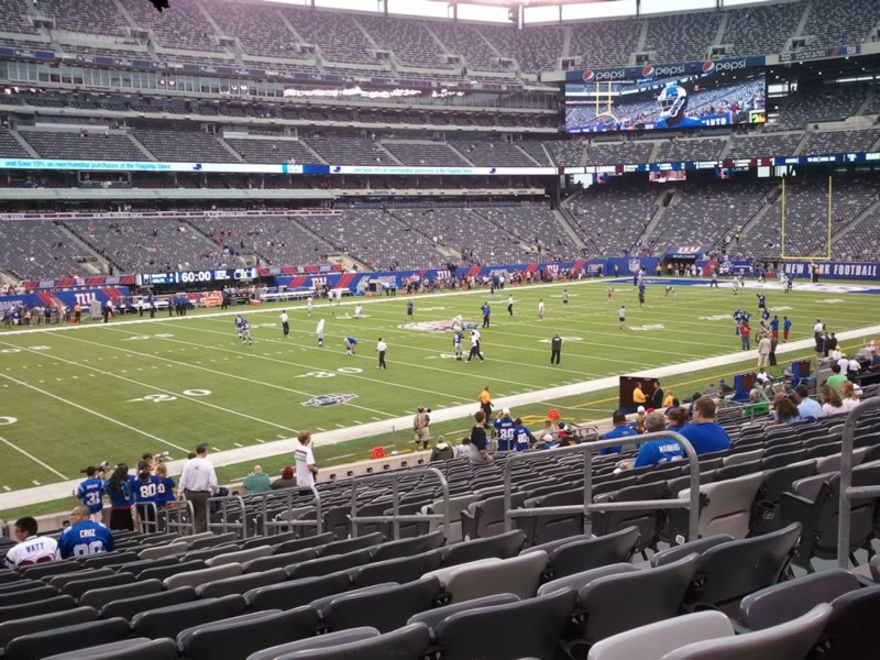 Seat View for MetLife Stadium Section 117, Row 25, Seat 6