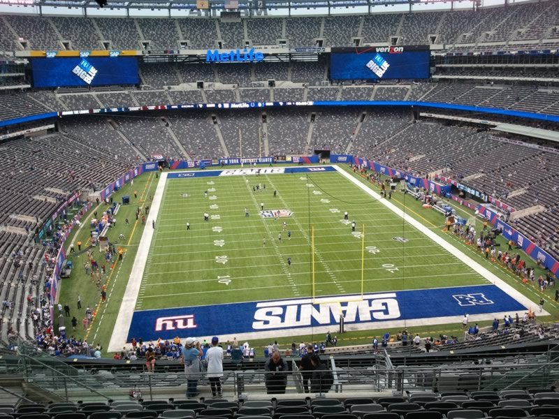 Seat View for MetLife Stadium Section 202B