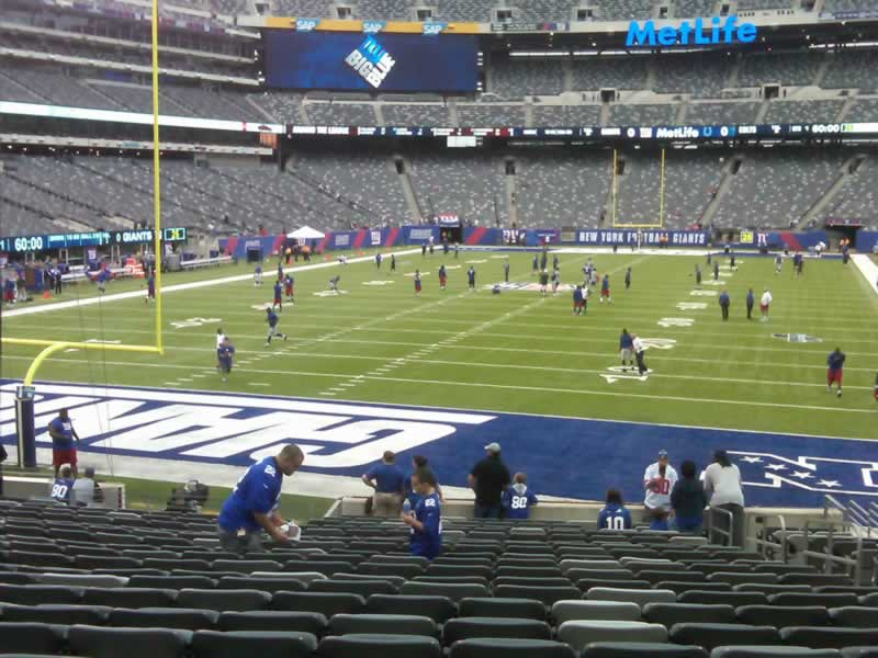 Seat View for MetLife Stadium Section 149, Row 21, Seat 6