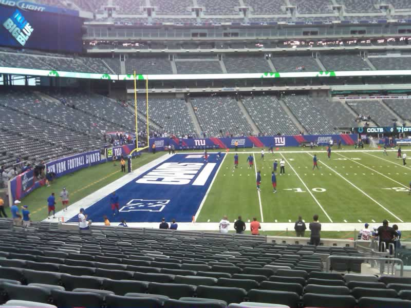 Seat View for MetLife Stadium Section 143, Row 22, Seat 3