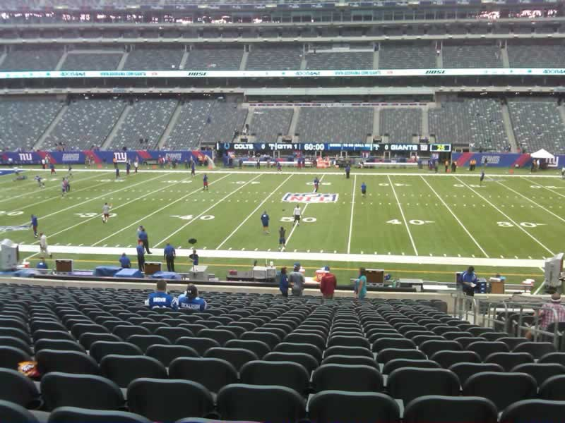 Seat View for MetLife Stadium Section 139, Row 31, Seat 6