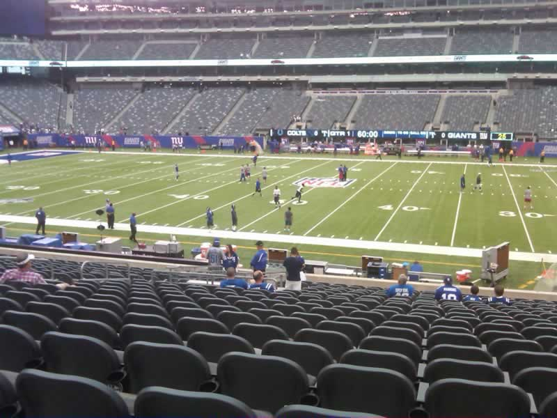 Seat View for MetLife Stadium Section 137, Row 27, Seat 18