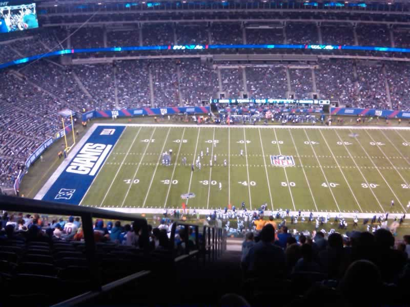 Seat View for MetLife Stadium Section 339, Row 26, Seat 28