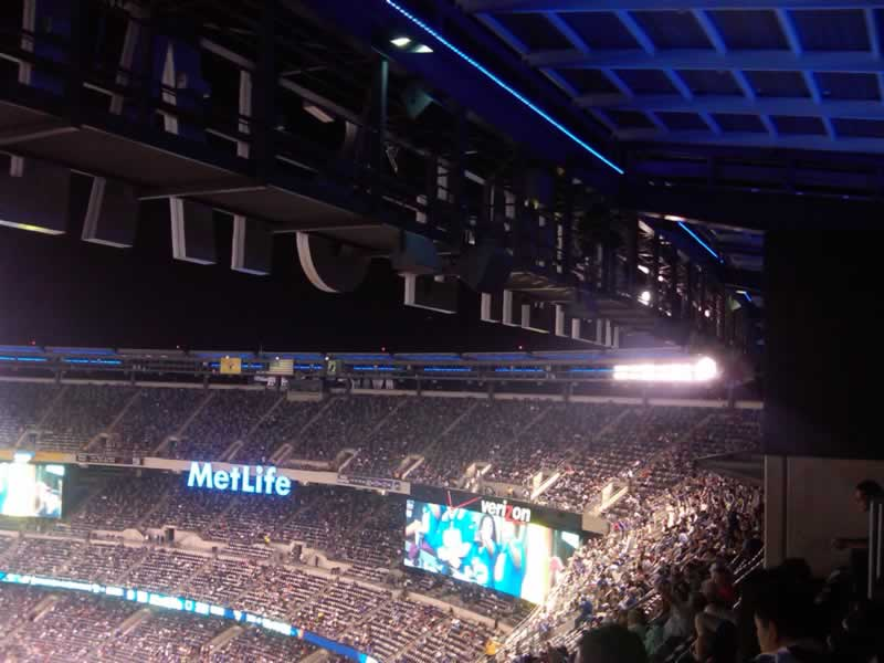 Fans Sitting Near MetLife Stadium Section 339