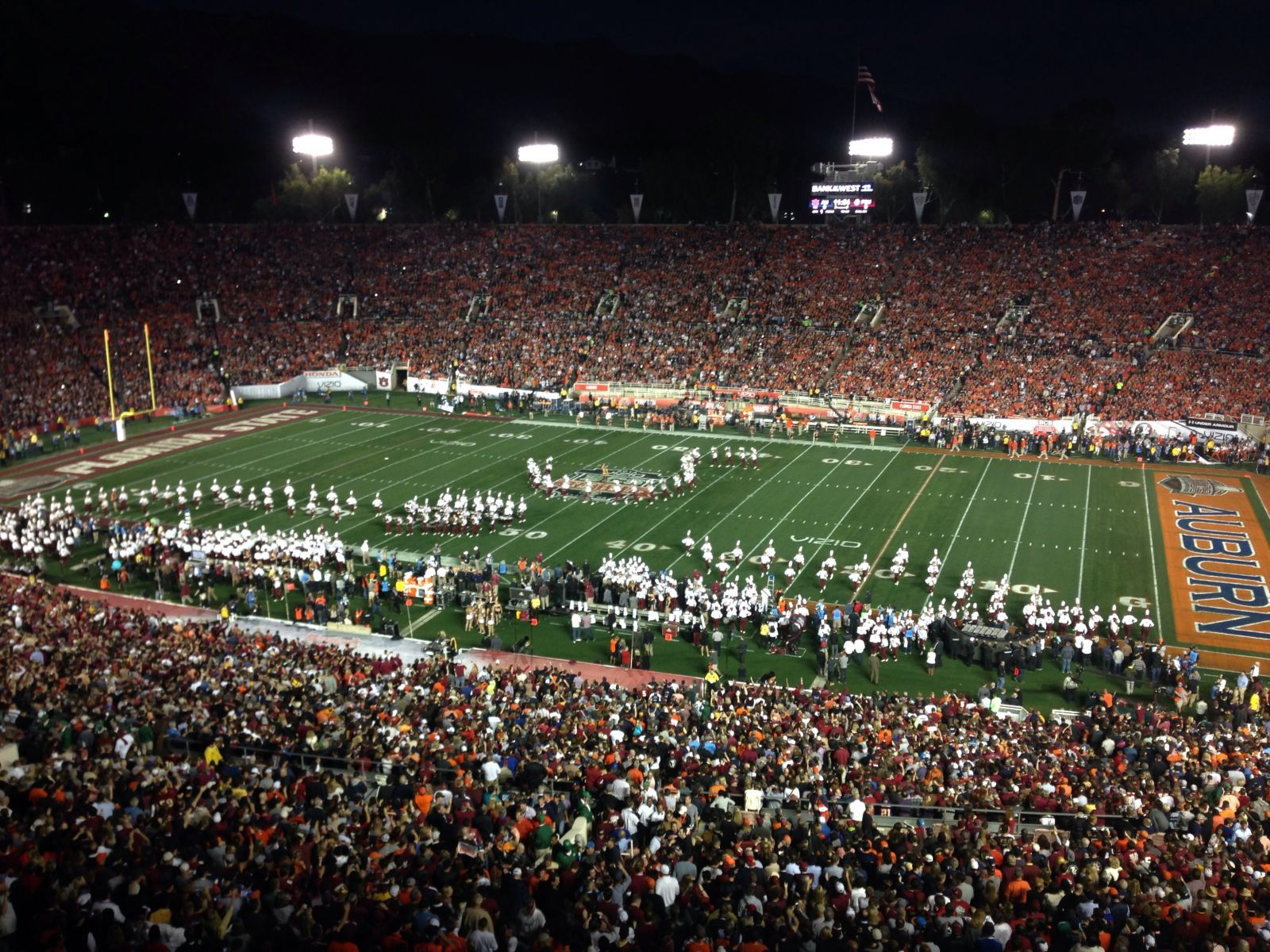 Seat View for Rose Bowl Stadium E Level Suites Center, Row RESERVED, Seat 12