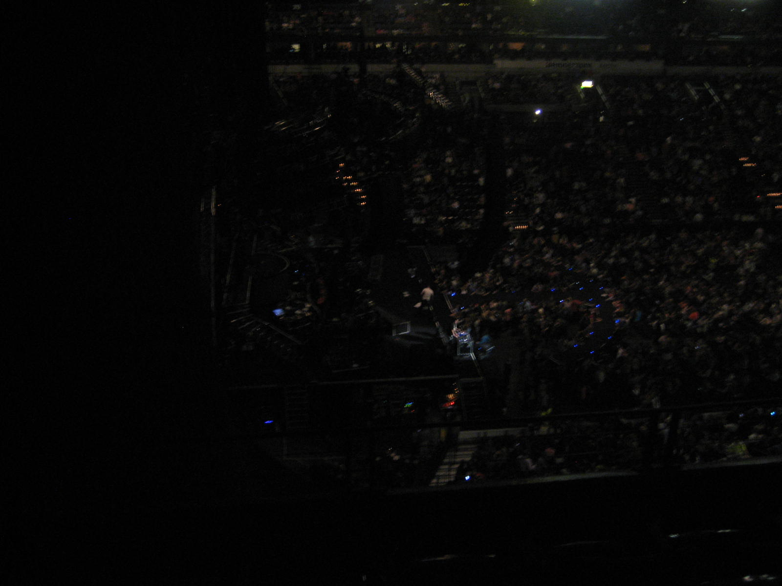 Concert Seat View for Bridgestone Arena Section 323, Row D, Seat 6