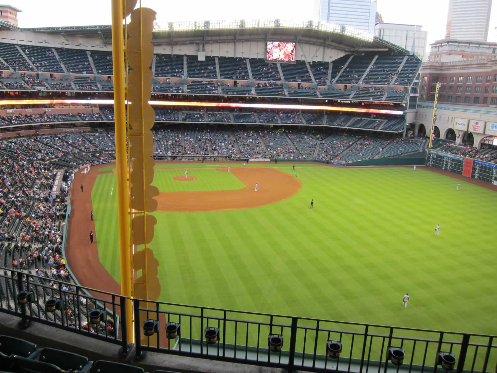 Seat View for Minute Maid Park Section 337, Row 4, Seat 15