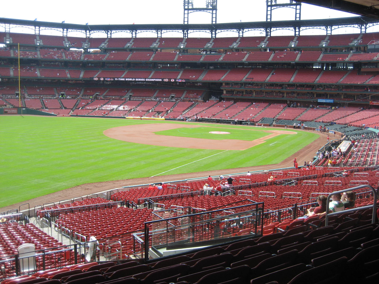 Seat View for Busch Stadium Section 167, Row 29, Seat 10