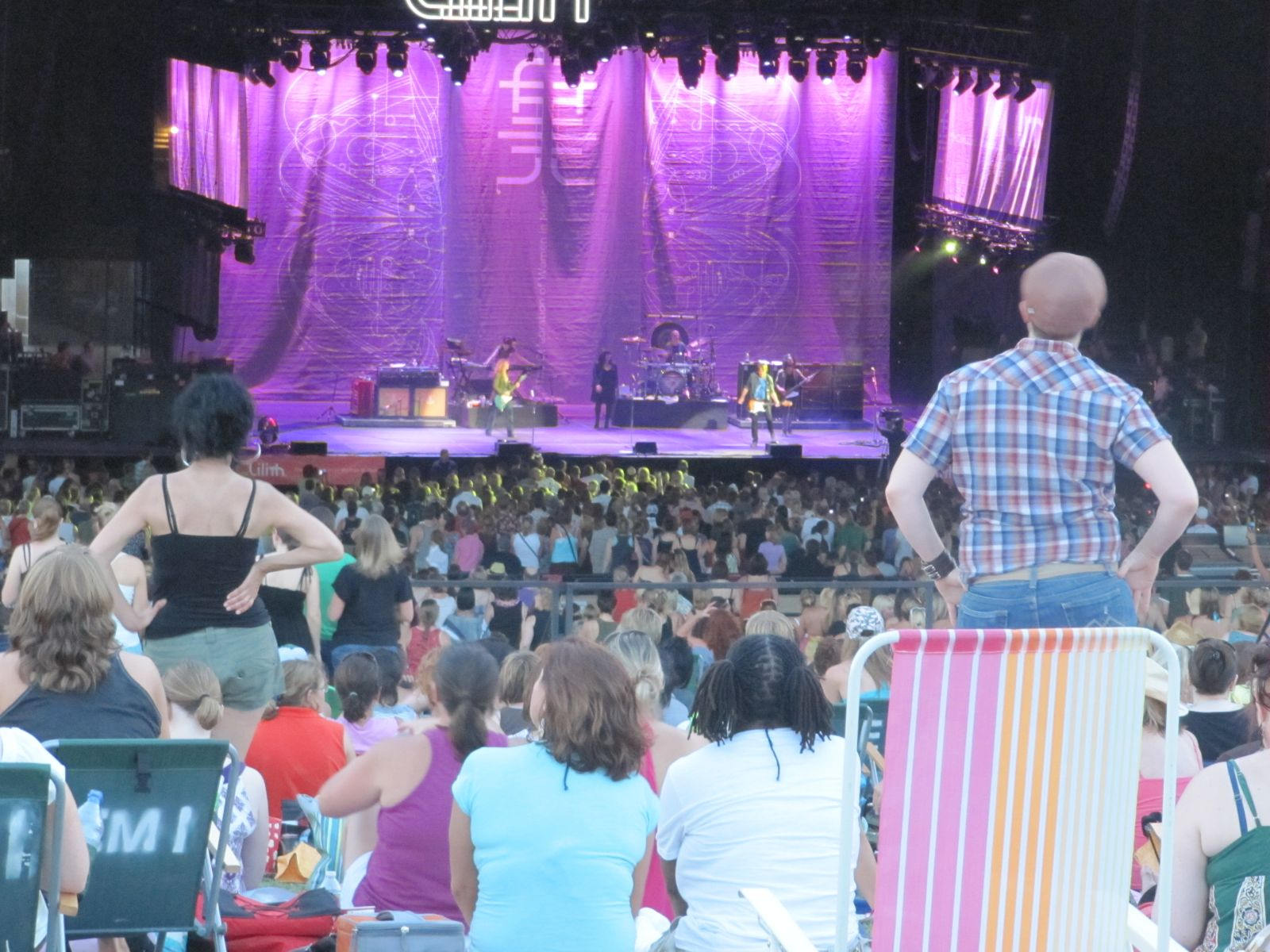 Hollywood Casino Amphitheatre Tinley Park Il Lawn