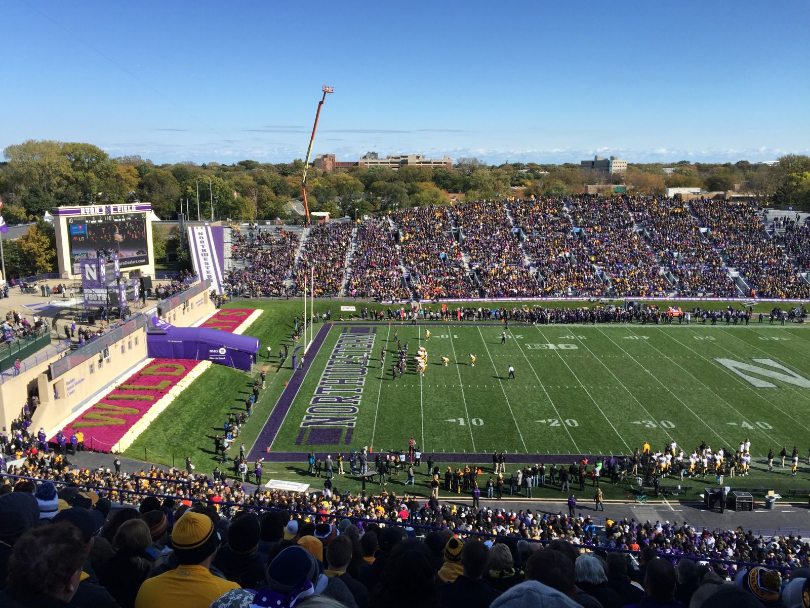 Seat View for Ryan Field Section 232, Row 35, Seat 15
