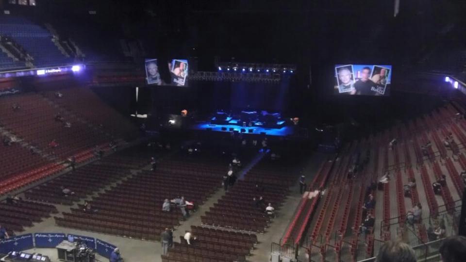 Mohegan Sun Arena Section 110 Concert Seating