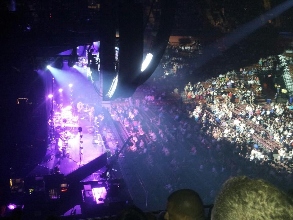 Mohegan Sun Arena Section 119 Concert Seating