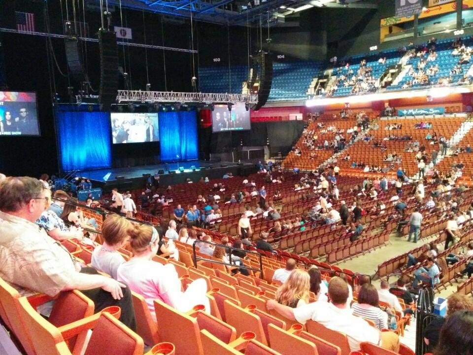 Mohegan Sun Arena Section 23 Concert Seating Rateyourseatscom