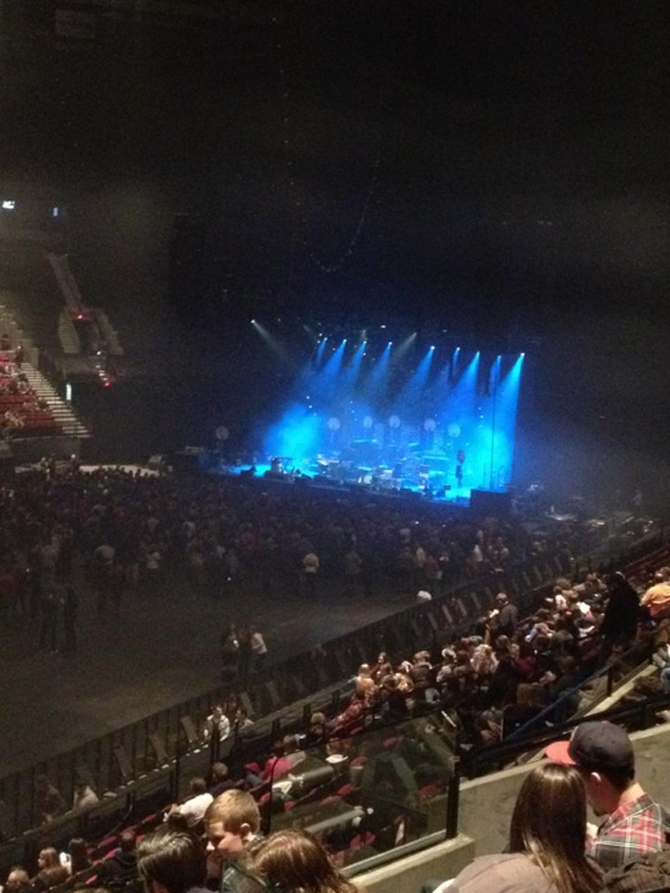Moda Center Section 114 Concert Seating Rateyourseatscom