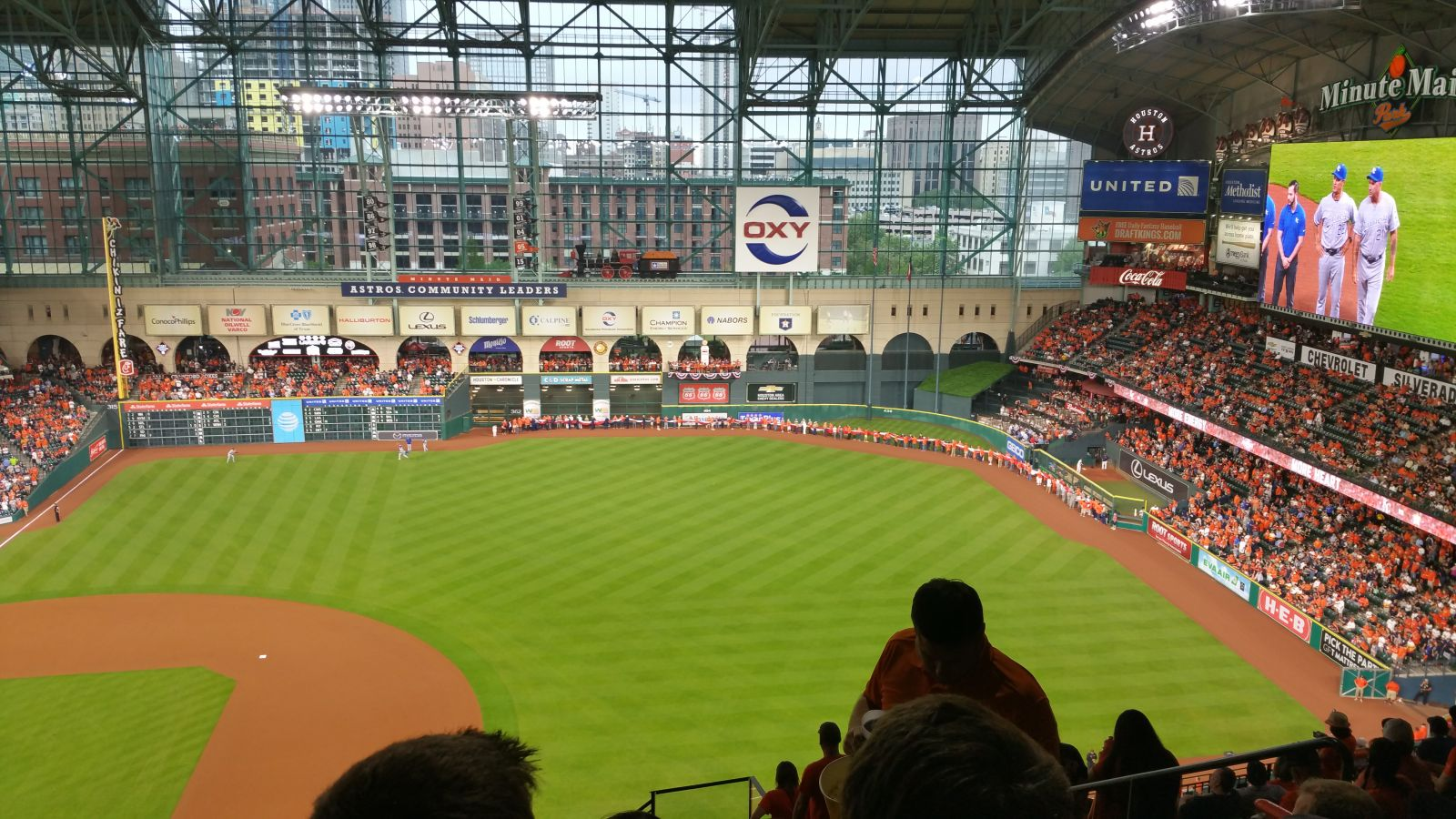 Seat View for Minute Maid Park Section 427, Row 12, Seat 18