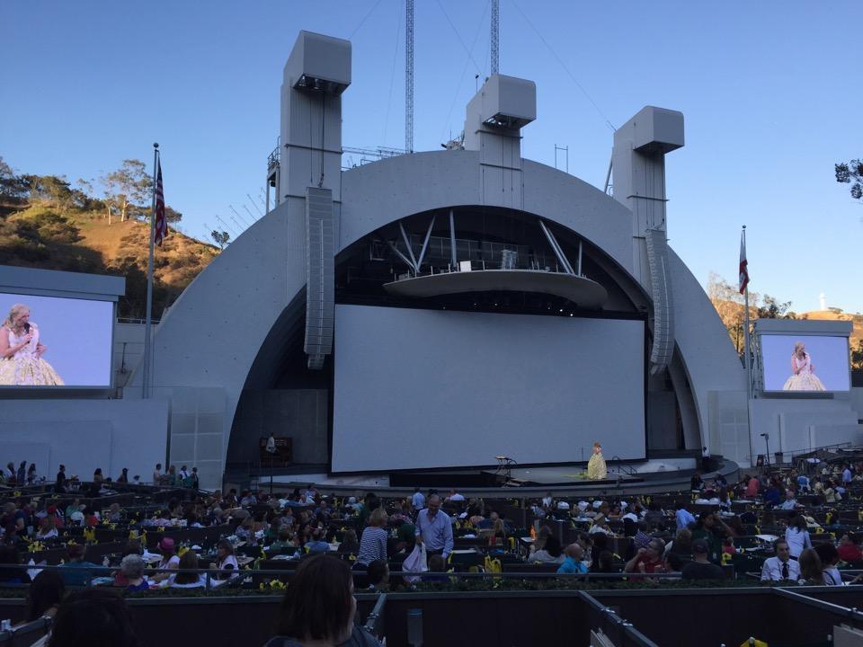 Hollywood Bowl Terrace 6 Rateyourseats Com
