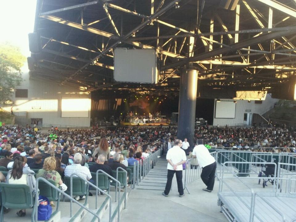 Concert Seat View for Concord Pavilion Section 207, Row X