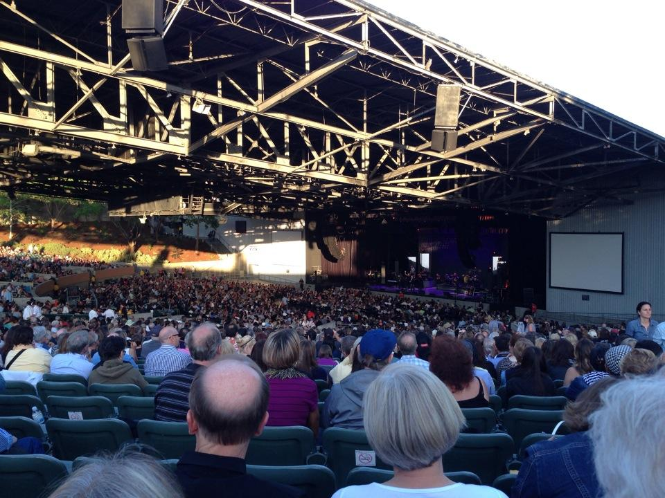 Concert Seat View for Concord Pavilion Section 201