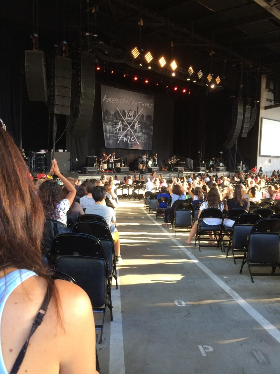Concert Seat View for Concord Pavilion Section 107
