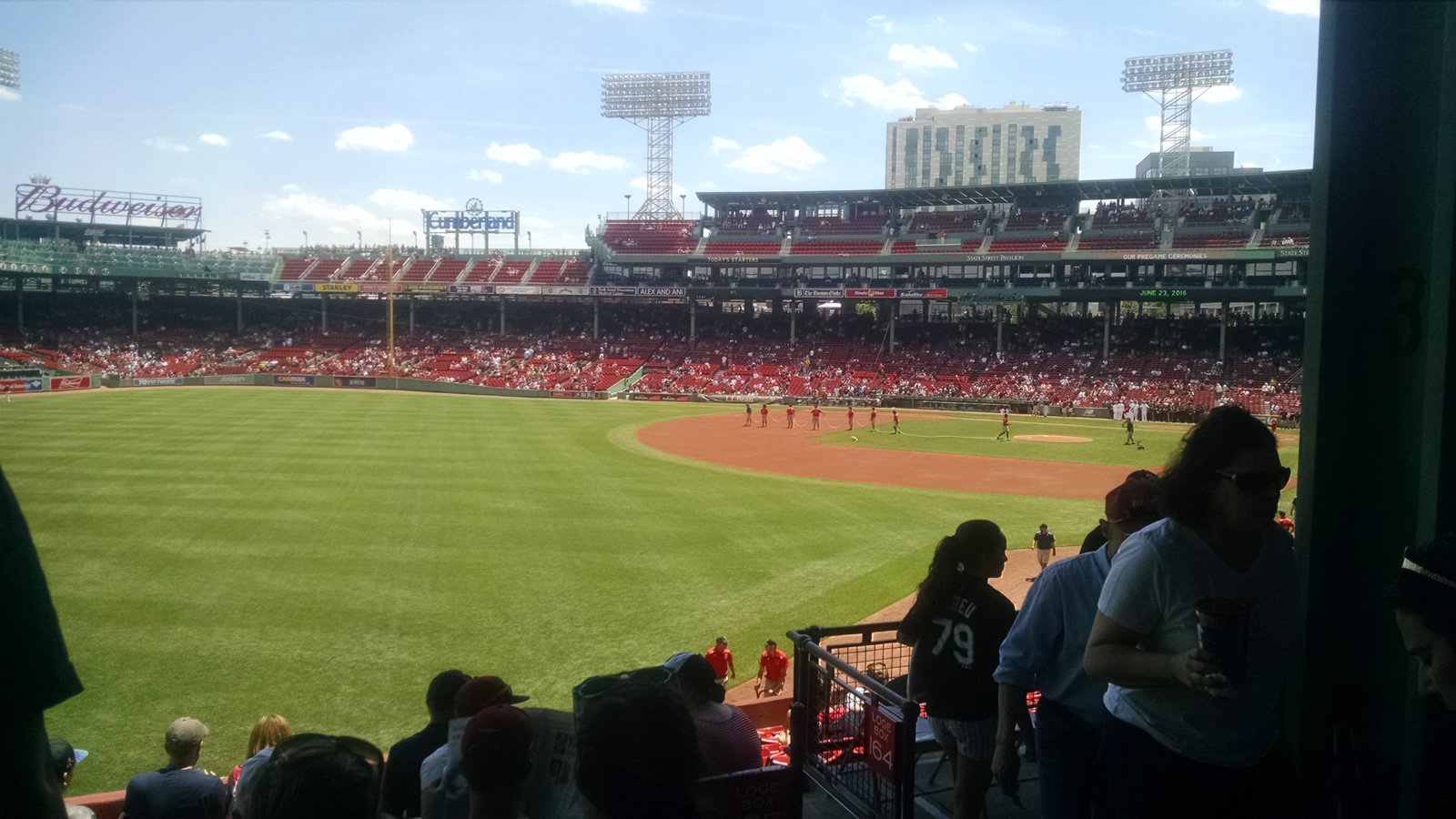 Seat View for Fenway Park Grandstand 33, Row 5, Seat 4
