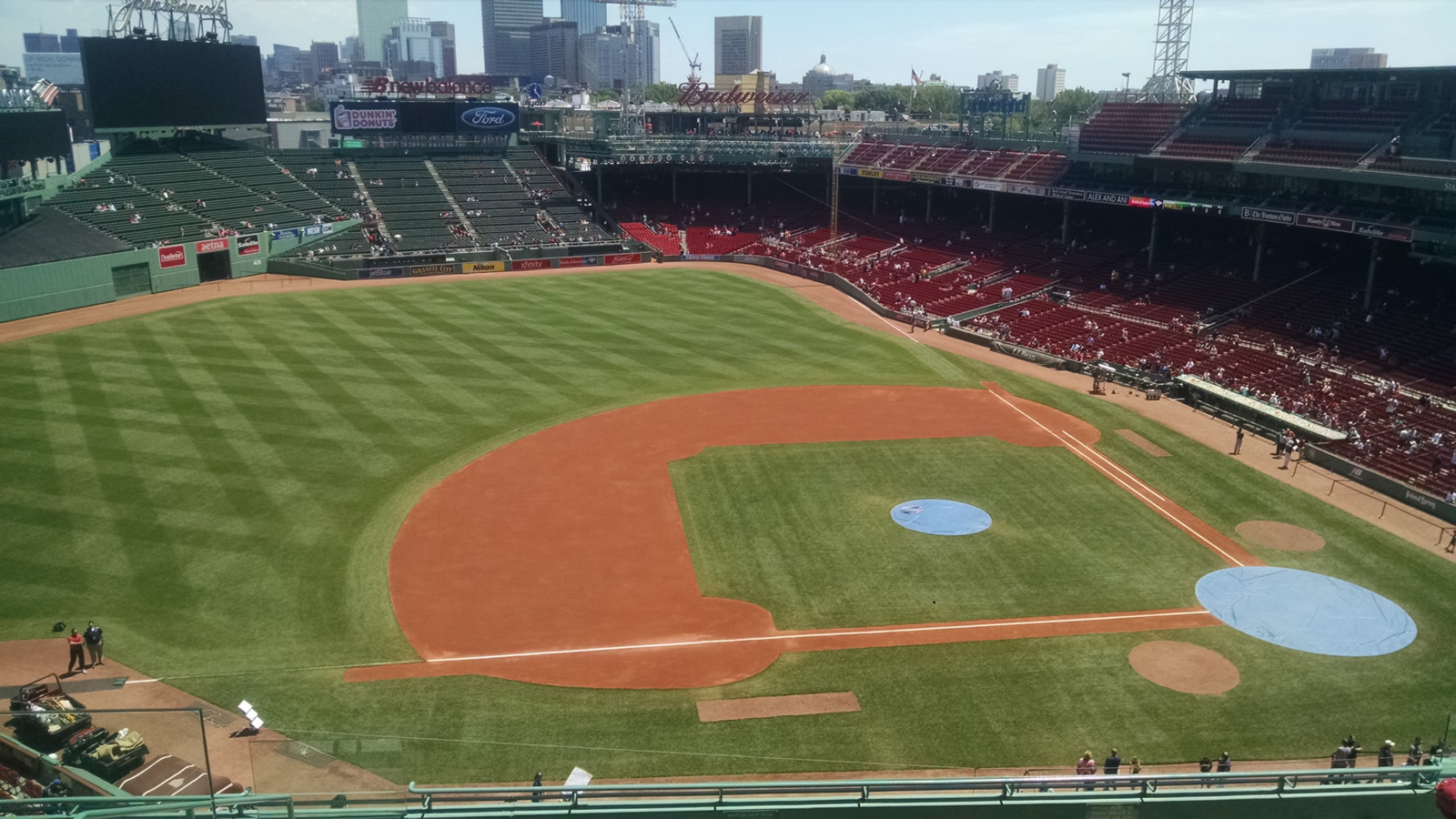 Seat View for Fenway Park Pavilion Box 8, Row D, Seat 12