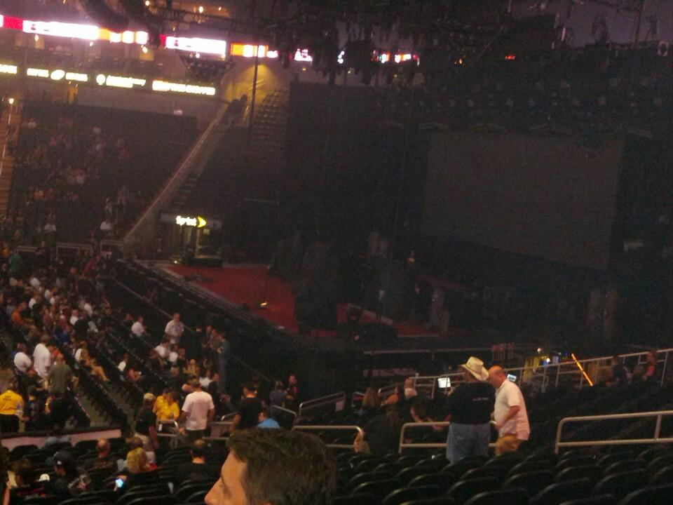 Concert Seat View for Sprint Center Section 116, Row 16