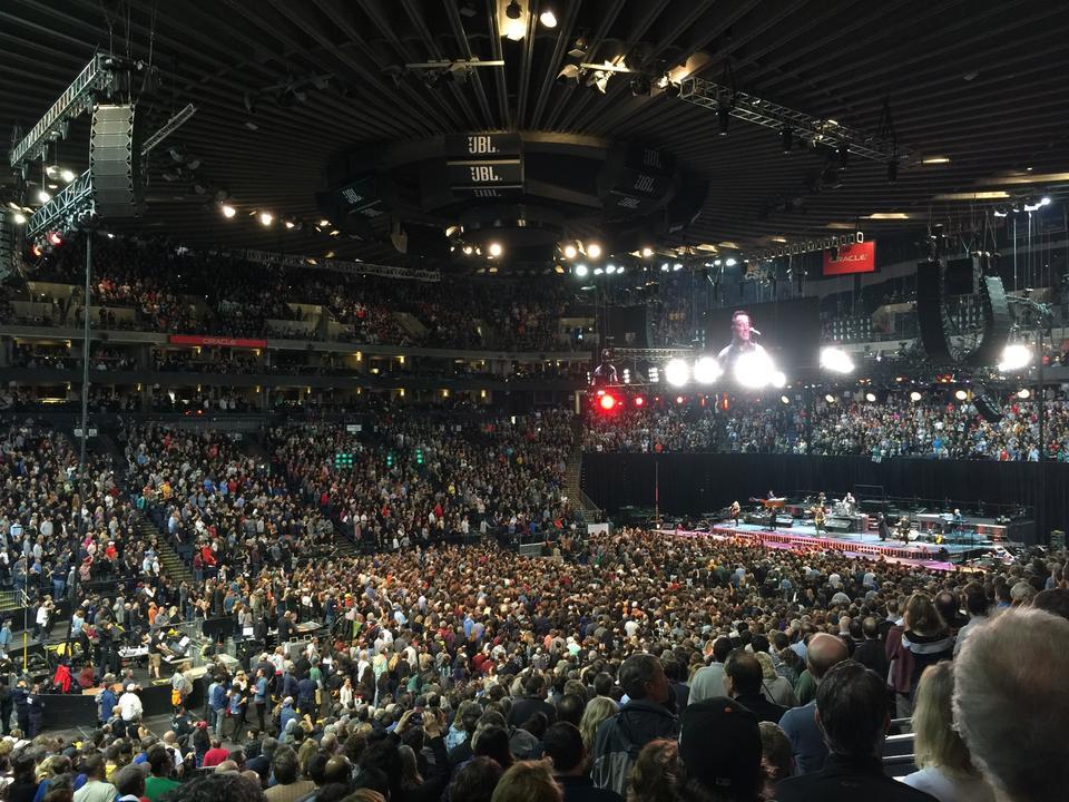 Oracle Arena Section 103 Rateyourseatscom