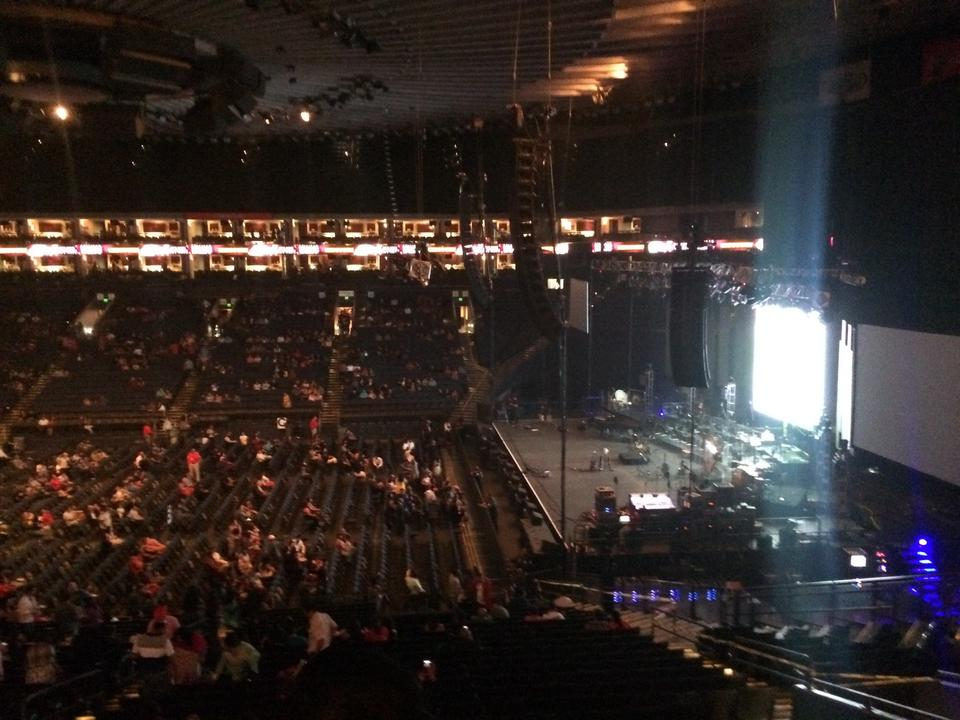 Oracle Arena Section 127 Rateyourseatscom