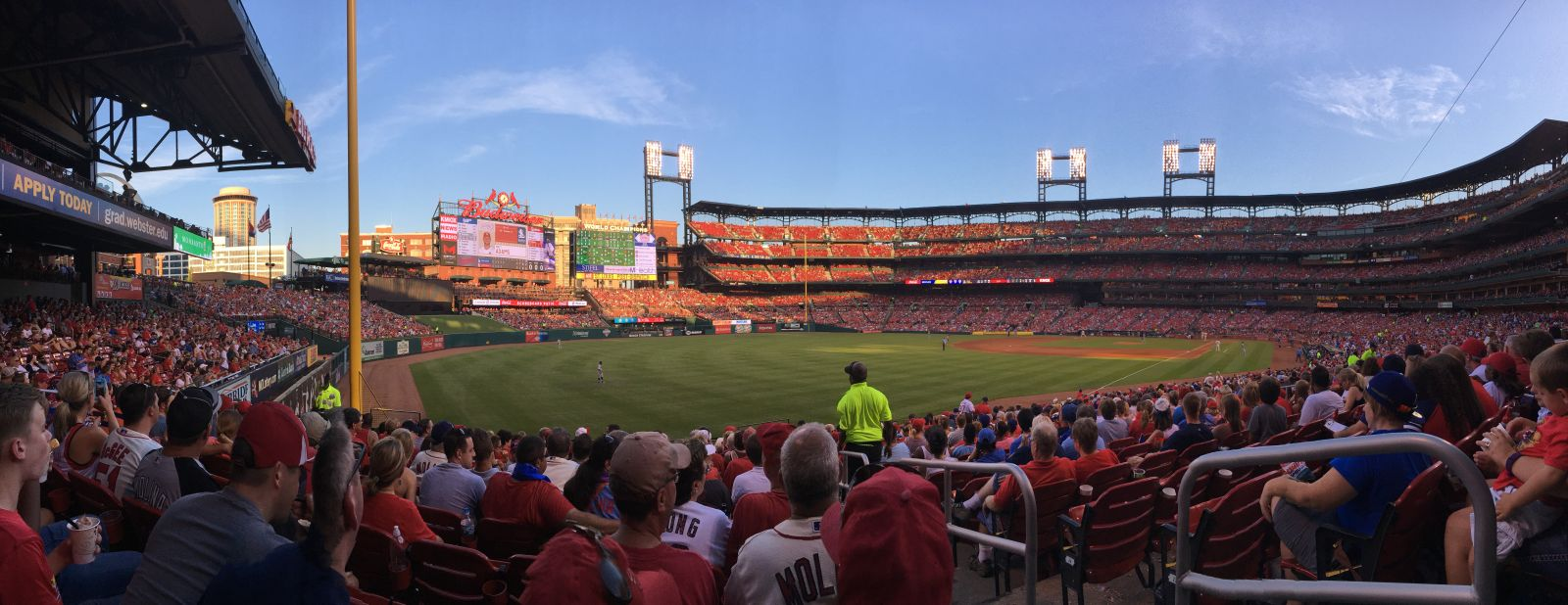 Seat View for Busch Stadium Section 168, Row 17, Seat 1