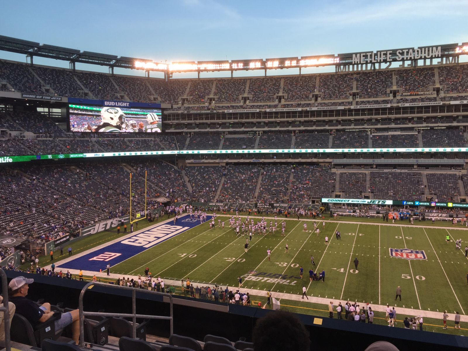 Seat View for MetLife Stadium Section 239, Row 7, Seat 23