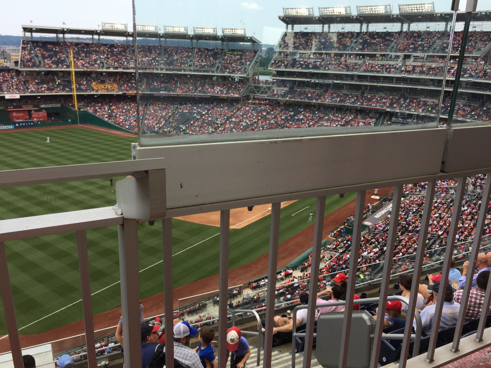 Seat View for Nationals Park Section 303, Row J, Seat 2