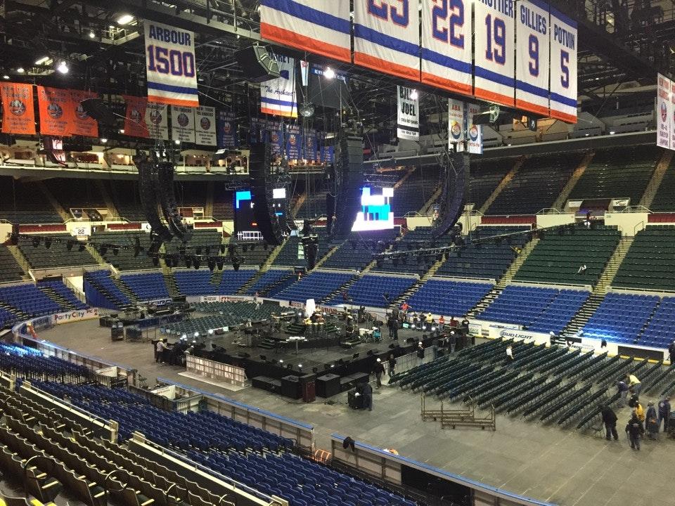 Nassau Coliseum Section 101 Concert