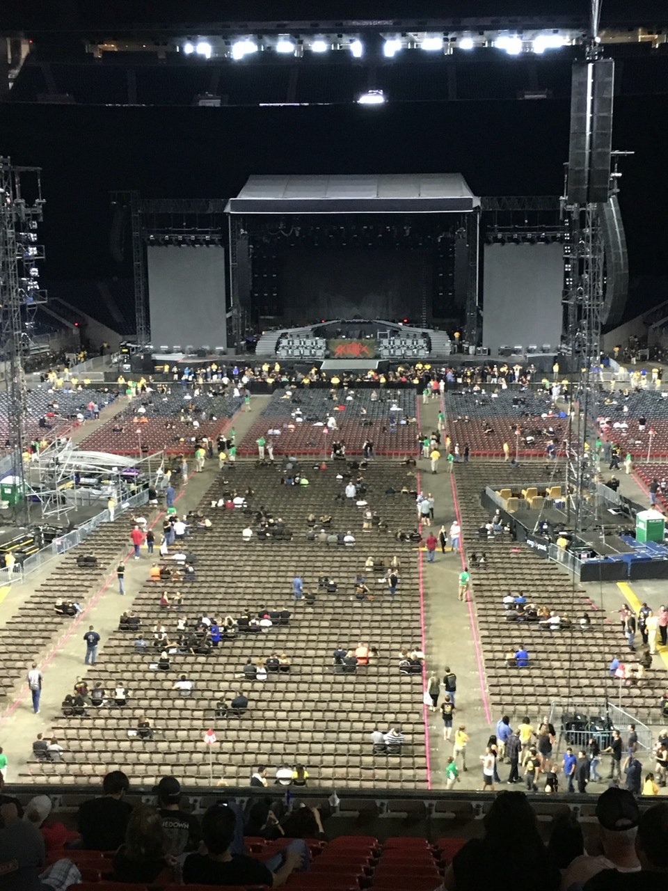 Concert Seat View for NRG Stadium Section 351